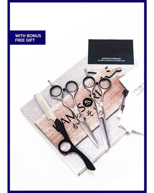 Picture of Kamisori Shears Student Haircutting Shears Kit